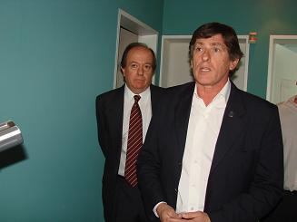 Dr. Ricardo Lombardi y Dr. Carlos Zaparart.