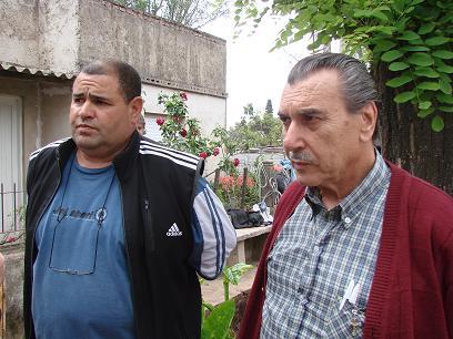 Rodolfo González La Rosa y Hugo Labriola.