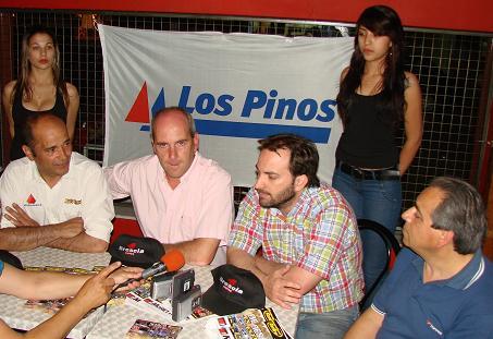 Marcelo Zárate, Eduardo Clérico, Roberto Barbero y Juan Seijo.