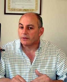 Horacio Delgado, legislador provincial.