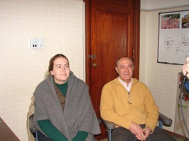 Angélica Merlino y Eduardo Firpo.
